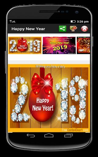 Happy New Year 2019 Greetings 9.0 screenshots 1
