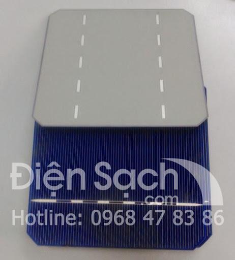 Pin mặt trời đơn tinh thể 125mm x 125 mm