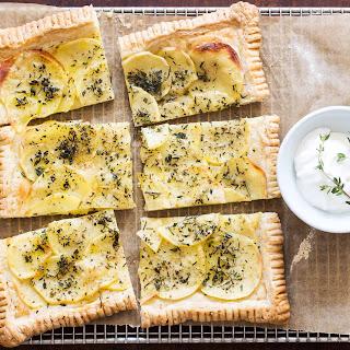 Potato Herb Tart Recipe