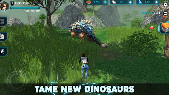 Dino Tamers  Jurassic Riding MMO Apk Mod Dinheiro Infinito 4