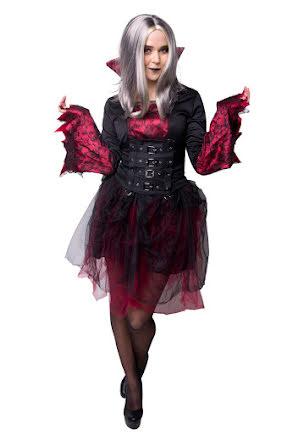 Klänning, vampyra gotisk