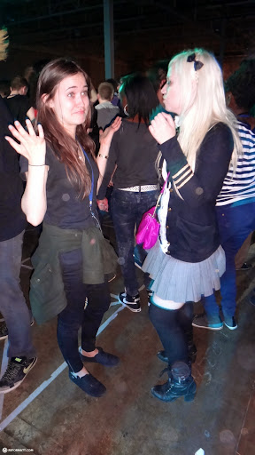at the indoor RAVE at anime north 2013 in Toronto, Ontario, Canada