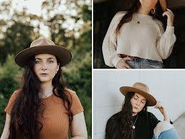 Girl in Hat - Facebook Shop item
