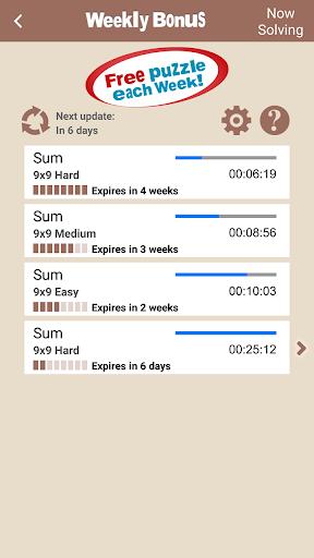 Conceptis SumSudoku screenshots 5