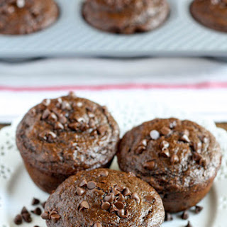 Skinny Double Chocolate Muffins.