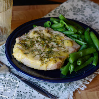 Crockpot Ranch Pork Chops- Lunch Version
