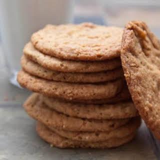 Egg-less Peanut Butter Cookies.