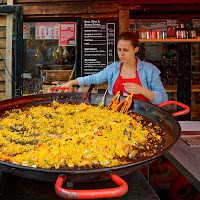 Big paella di