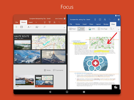 Microsoft PowerPoint Aplicaciones (apk) descarga gratuita para Android/PC/Windows screenshot
