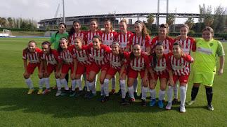 El equipo femenino del Almería vuelve al campo Anexo.