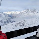 Matterhorn skilift in Zermatt, Valais, Switzerland
