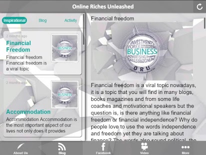 Online Riches Unleashed- screenshot thumbnail