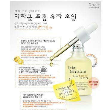 韓國高級品牌Enprani 6合一神奇柚子護理油