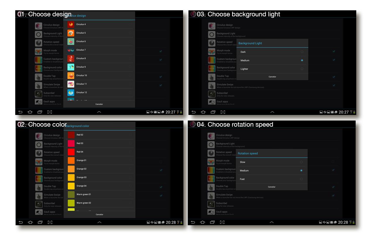 Circulux LWP - screenshot
