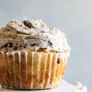 Loaded Cookies and Cream Cupcakes.