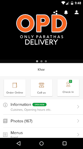 OPD Only Parathas