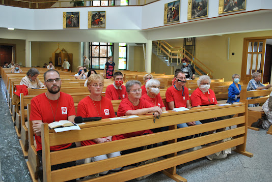 Peregrynacja figury Św. Michała - Jubileusz Caritas 2010-2020 - dzień 2 - 05.09.2020
