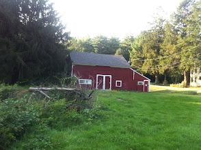 Photo: Barn as seen from Midget Field.