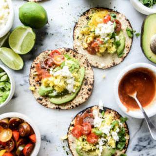 Summer Breakfast Tacos.