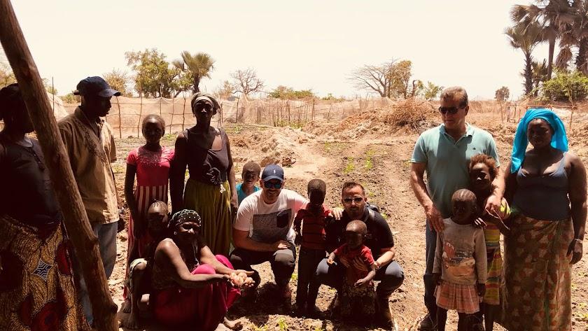 Campojoyma saca su lado más solidario en Gambia