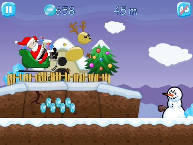 android Xmas Ride - Santa Escape Screenshot 4