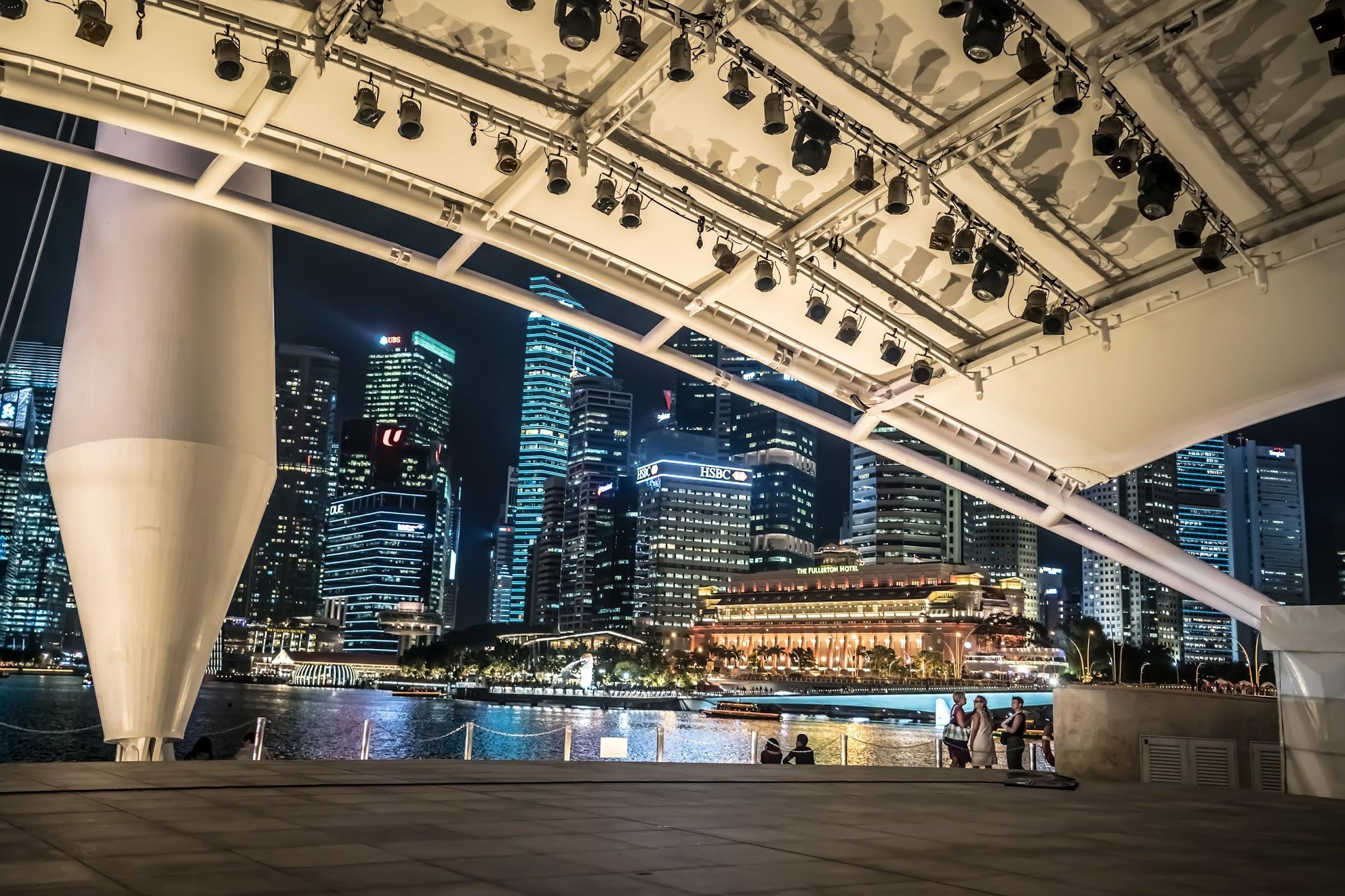 Singapore Esplanade evening3