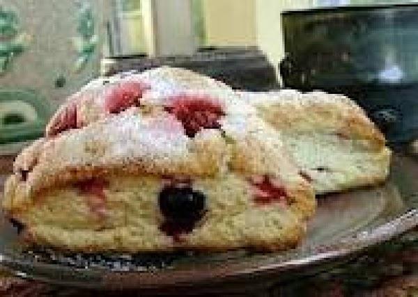 Raspberry Chocolate Scones Recipe