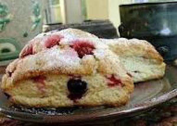 Raspberry Chocolate Scones Recipe