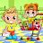 Vlad & Niki Supermarket game for Kids logo