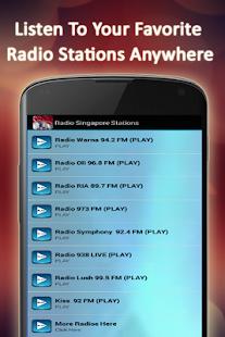 Radio Singapore Stations - náhled