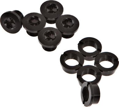 Problem Solvers Single Chainring Bolts Black Alloy alternate image 2