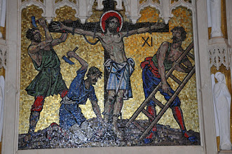 Photo: Eleventh Station: Christ is nailed to the cross
