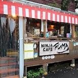 ninja cafe fuma in Gora, Hakone in Hakone, Kanagawa, Japan