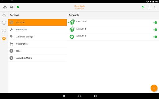 Bria Mobile: VoIP Business Communication Softphone app (apk) free