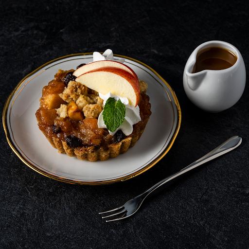 """Apple Cranberry Raisin Caramel Pie (4"""" Wide)"""
