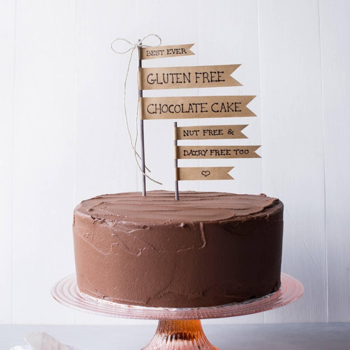 Best Ever Gluten Free Chocolate Cake
