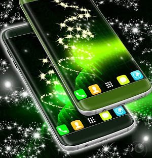 Neon green live wallpaper apps on google play screenshot image voltagebd Image collections
