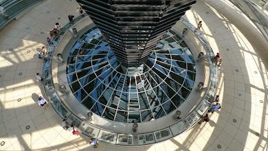Photo: Blick von oben in der Kuppel