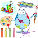 Color mix games for kids icon