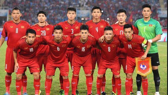 Nguyễn Tiến Linh trong màu áo U22 Việt Nam
