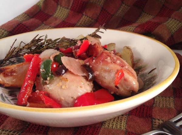 Tuscan Roast Chicken Recipe