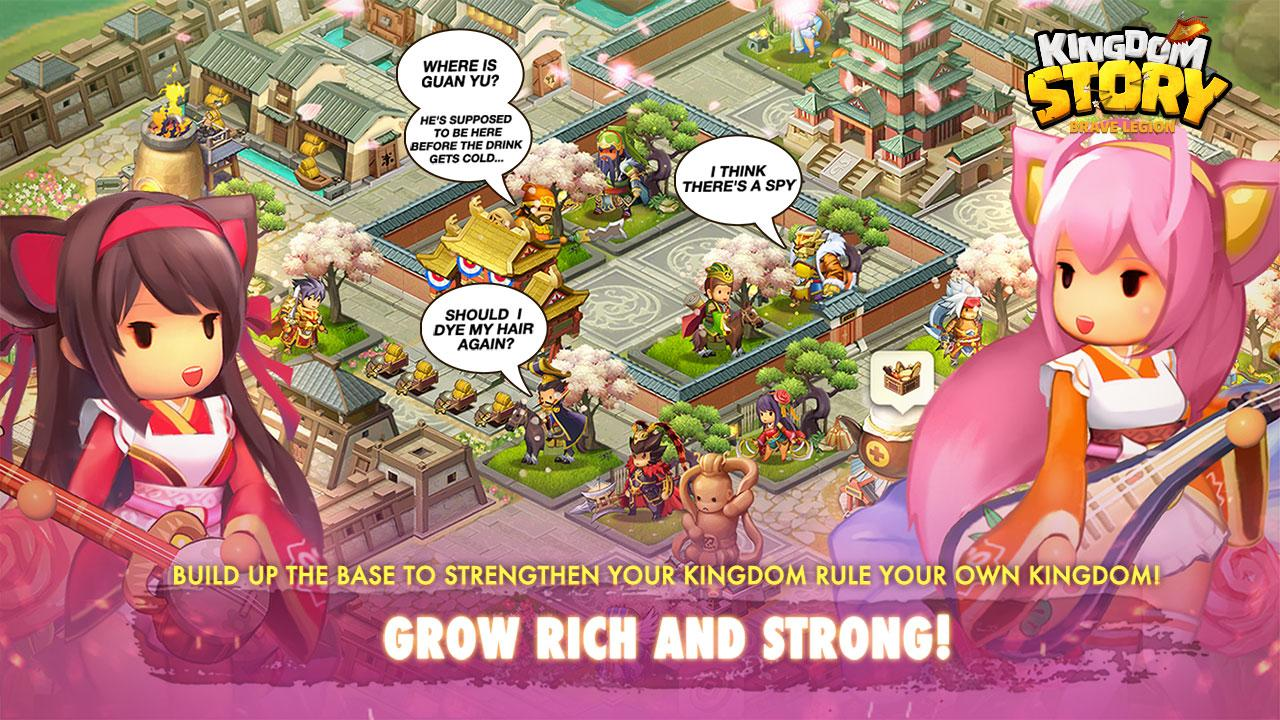 Kingdom Story: Brave Legion- screenshot