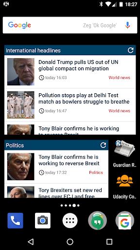 Guardian Reader screenshot 1
