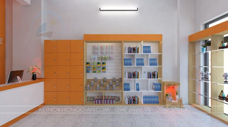 thiết kế nhà sách anna 7