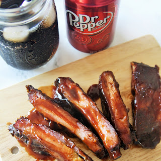 Dr Pepper Chipotle Ribs {Slow Cooker Method} Recipe