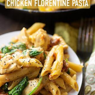 Chicken Florentine Pasta.