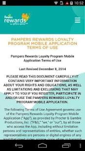 Pampers Rewards - screenshot thumbnail