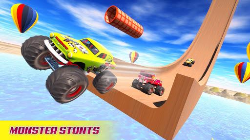 Mega Ramp Car Racing Stunts 3D - Impossible Tracks android2mod screenshots 9
