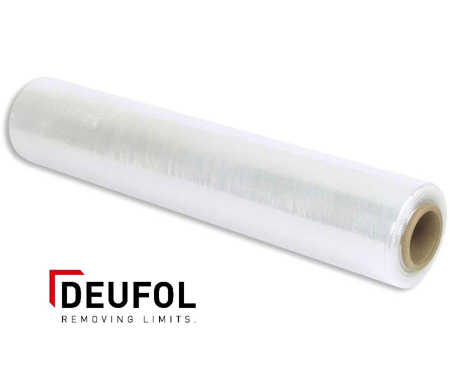 Stretch foil on roll - transparent
