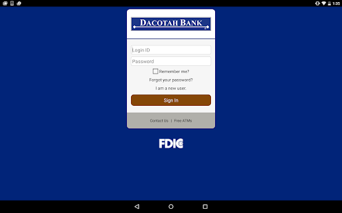 Dacotah Bank- screenshot thumbnail